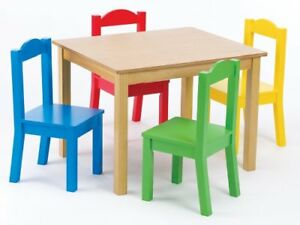 Image Is Loading Tot Tutors Kids 039 Table And 4 Chair