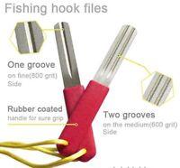 Diamond Hook Sharpener,two Sides , Hook Hone , Fly Fishing 1st Post