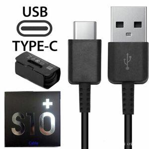 Tipo-C-USB-cable-de-carga-de-datos-C-Cargador-rapido-para-Samsung-Galaxy-S8-S9-S10-Plus