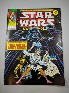 Classic Han /& Chewie Cover VF-NM High Grade Star Wars Weekly #66 Cool! UK