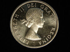 1961 Canada Silver Dollar - Mint State PL
