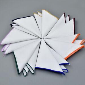 Mens-Pocket-Square-Handkerchief-Suit-Accessories-Colorful-Edge