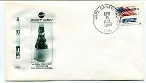 1964 Project Gemini Spacecraft Orbited Cape Kennedy Florida Canaveral Space Usa DernièRe Technologie