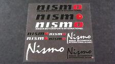 NISMO Sticker Set PVC Decal