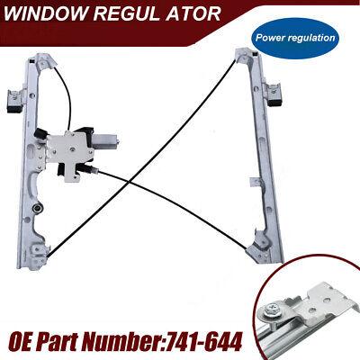 Power Window Regulator with Motor Front Left for Chevrolet Silverado GMC 741-644