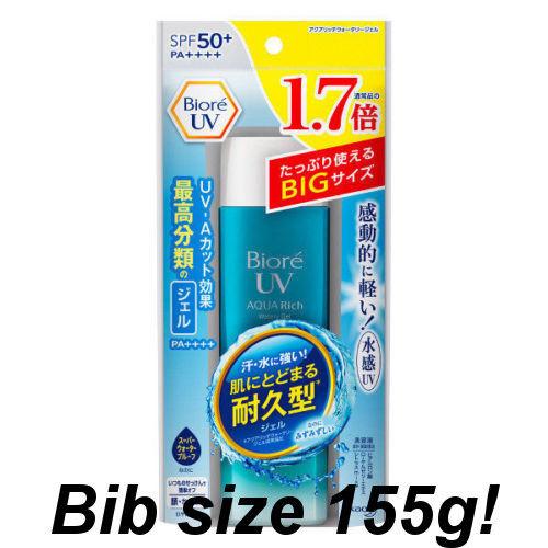 Biore UV AQUA RICH Watery Gel Sunscreen 90ml SPF50+ very popular  not SAL