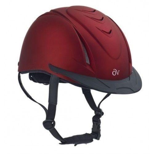 Ovation Deluxe METALLIC Schooler Riding Helmet - Different colors and Sizes