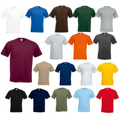 Fruit of the Loom Men's(S~4XL &  6~10 oz) Short Sleeves HEAVY cotton HD T-Shirt