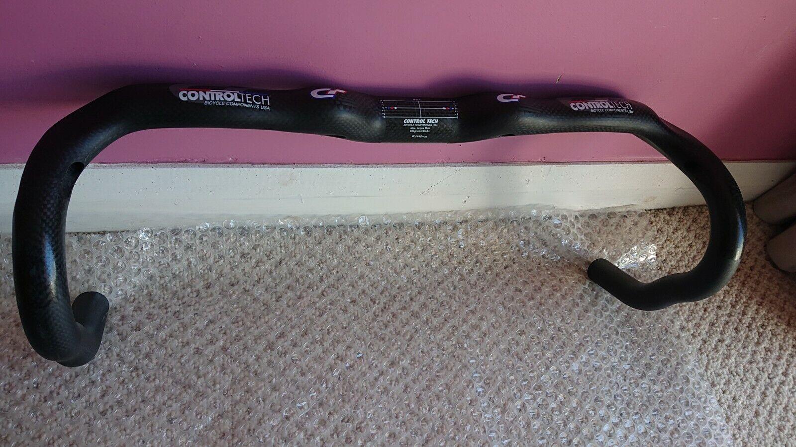 Steuerung   Control Tech Carbon Comp Handles - 44cm - Brand New.