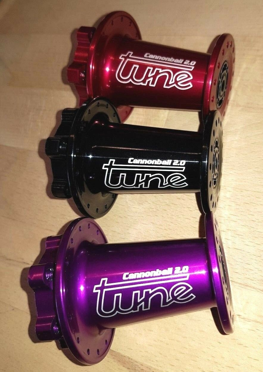 TUNE Vorderradnabe CANNONBALL 2.0 Lefty front hub for Cannondale Supermax   gorgeous