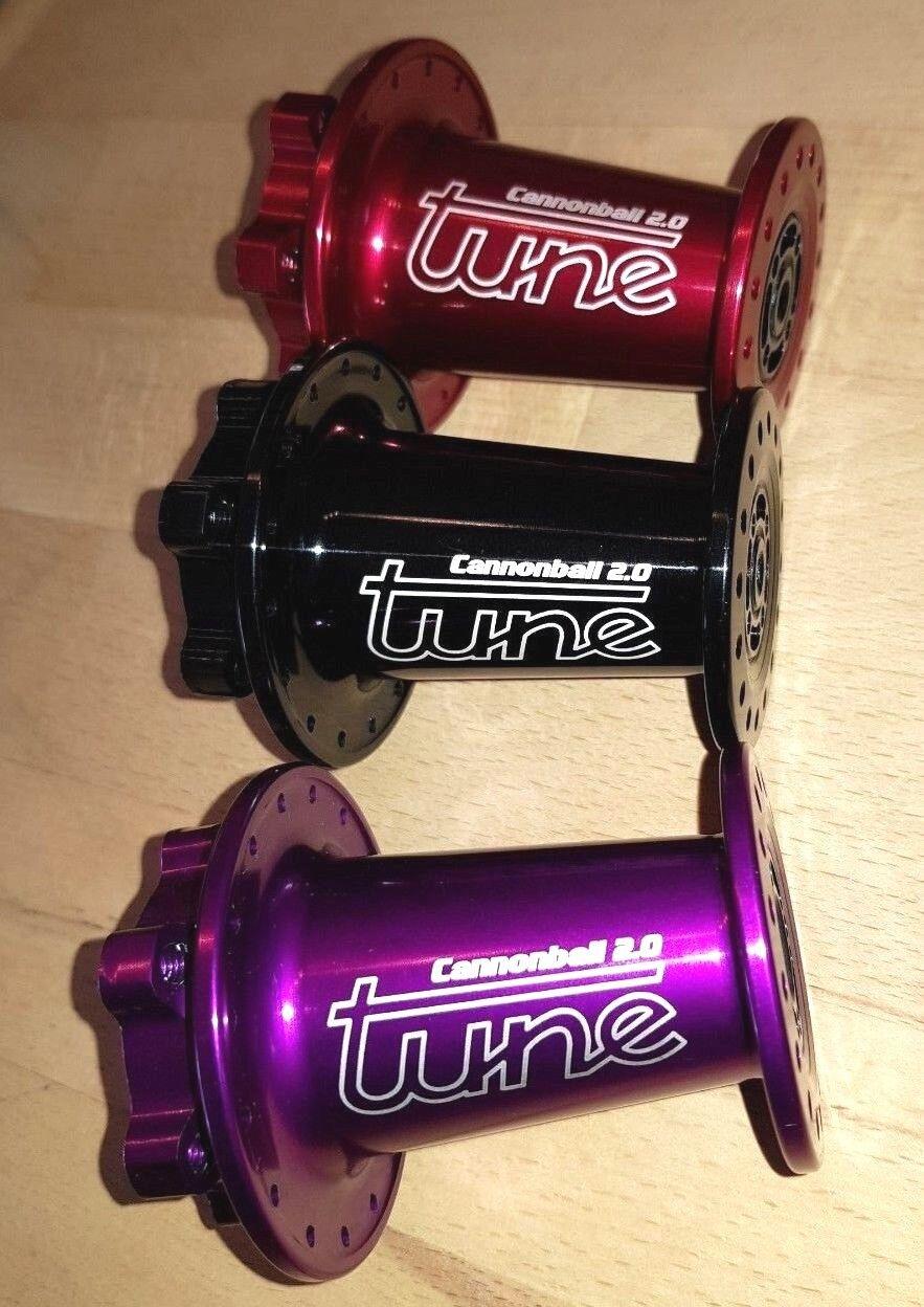 TUNE Vorderradnabe CANNONBALL 2.0 Lefty front hub for Cannondale Supermax Supermax Supermax 9436d3