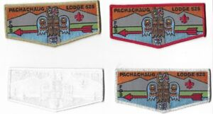 OA-Lodge-525-Pachachaug-Four-Patch-Set-9-of-50-Made-S-23-S-24-S-25-amp-S-26