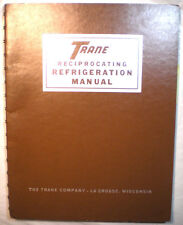 TRANE Reciprocating Refrigeration Guide ASBESTOS Air Cell Insulation 1970