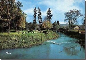 Cpm Vesoul La Passerelle Meillier Sur Le Durgeon Et Le Jardin