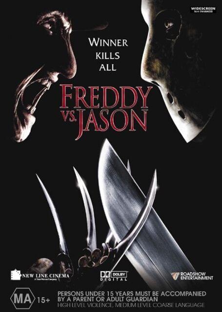 Freddy vs Jason - DVD Like New - A Nightmare On Elm Street Friday The 13th Etc.