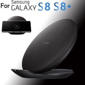 induktive schnell ladeger t ladestation samsung galaxy s8 s8 s7 s6 fast charger ebay. Black Bedroom Furniture Sets. Home Design Ideas