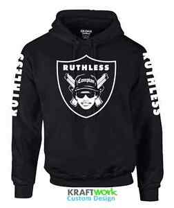 EAZY-E Ruthless Records Hoodie 90 s Classic Raiders - NWA Straight ... d45dd2615ce