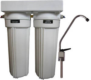 Clearplus Dual Stage Under Sink Water Filter System