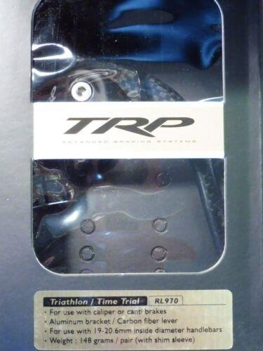 Tektro RL970 TT in carbonio leve del freno//NOS