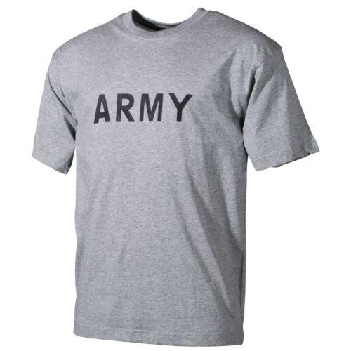 ARMY PFT US short sleeve Sport Shirt Grau Sportshirt grey tshirt XXXL / 3XL