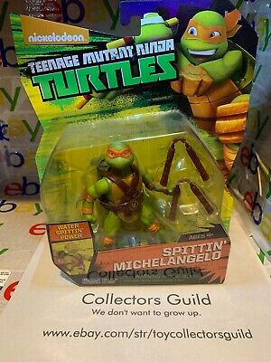 1st Edition Tmnt Nickelodeon Ninja Turtle Collection Sell Off Spittin Mikey Ebay