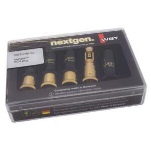 Wbt-0152 Cu Schachtel Nextgen Cinchstecker 4x Ohne Kennung Kupfer 853825 SchnäPpchenverkauf Zum Jahresende Audiokabel-stecker
