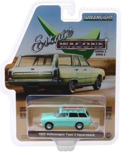 1965 VW Type3 Squareback Variant Heckklappe öffnet** Greenlight 1:64 OVP *SALE*