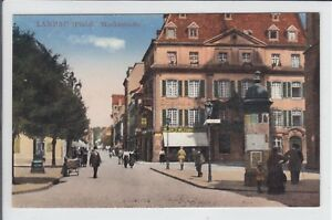 AK-Landau-Pfalz-Marktstrasse-um-1915
