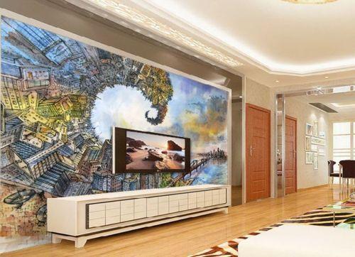 3D Abstract City 753 Wall Paper Murals Wall Print Wall Wallpaper Mural AU Kyra