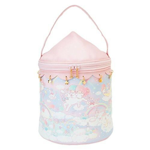New! Little Twin Stars 40th Cosmetic Box Bag (Welcome to The Dream Nebula) Japan