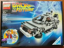 LEGO 21103 Ideas : The DeLorean Time Machine, New, MISB, Sealed Box, Cuusoo