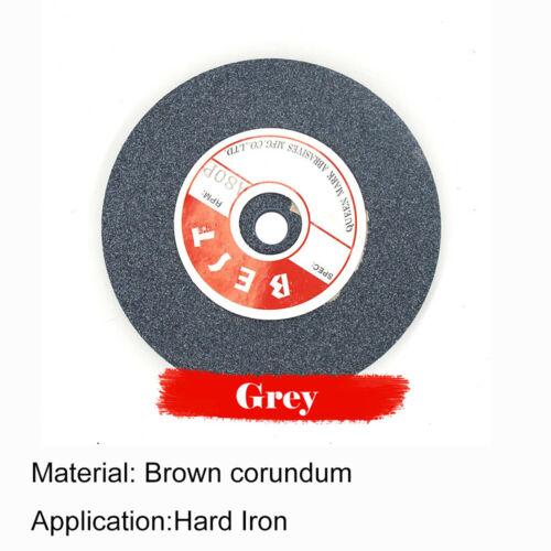 Heavy Duty Grinding Wheel Bench Grinder White//Grey//Green 5 inch Grit 46-100 UK