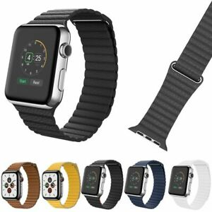 Leather-Magnetic-Loop-Band-Strap-for-Apple-Watch-Series-1-2-3-4-5