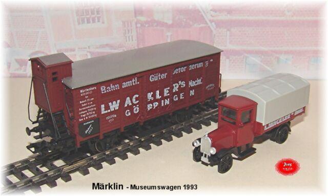 Märklin Museumswagen Set HO 1993 #NEU in OVP#
