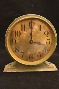 1927-Westclox-Big-Ben-De-Luxe-Antique-Alarm-Clock-Works
