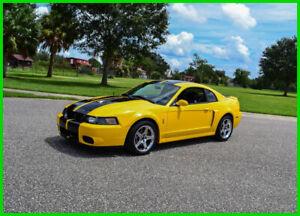 Mustang Terminator Yellow