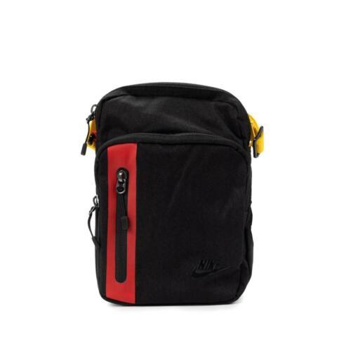 Nike Core Small Items 3.0 Tech Small Bag BA5268-011 Black//University Red//Black