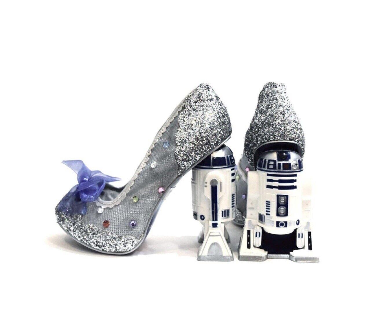 Irregular Choice X Starwars R2-D2 Character Heels NIB Size 37