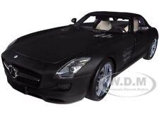 2010 MERCEDES SLS AMG MATT BLACK 1/18 LTD TO 1008PC BY MINICHAMPS 100039027