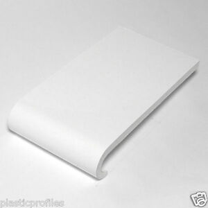 plastic upvc pvc 9mm bullnose window sill cill white. Black Bedroom Furniture Sets. Home Design Ideas
