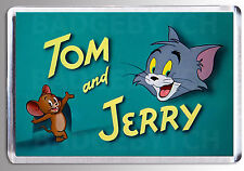 TOM AND JERRY LARGE FRIDGE MAGNET - CLASSIC ! Style 'B'