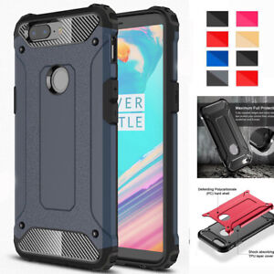 new product cb5ef d27c7 Details about For Oneplus 5T Hard Case Luxury 360° Heavy Duty Rugged Armor  Dual Protect Cover