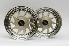 Original OZ TURBO 2tlg 7x15 4x108 Felgen Audi 80 100 Peugeot Citroen wheels rims
