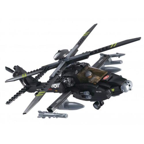 Koakid Kinder Bausteine Steine Set Soldat Hubschrauber Kampfhubschrauber Armee