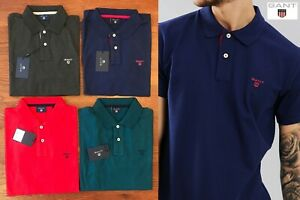 GANT-MEN-039-S-CONTRAST-COLLAR-PIQUE-POLO-SHIRT