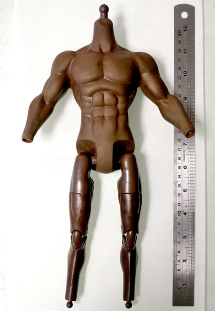 COOMODEL 1/6 Pack Plastic Male Muscle Nude Action Figure