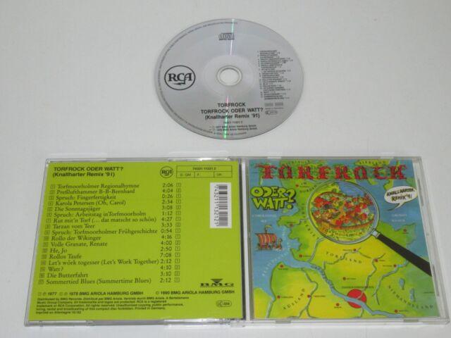 TORFROCK/TORFROCK ODER WATT?(KNALLHARTER REMIX '91)(ARIOLA 74321113212) CD ALBUM