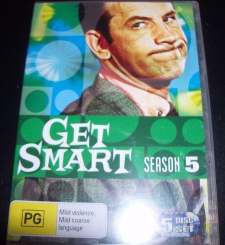 1 of 1 - Get Smart Season Five 5 (Australia Region 4) TV Series DVD – New