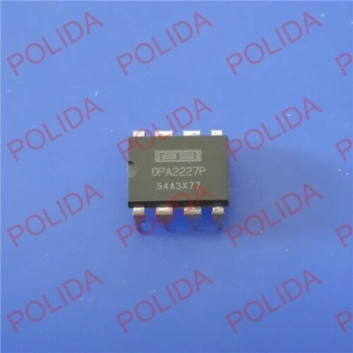 //TI DIP-8 OPA2227P OPA2227PG4 100/% Genuine and New 1PCS OP AMP IC BURR-BROWN BB