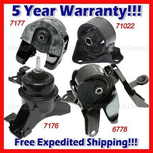L913-Fits-2007-2012-Kia-Rondo-2-4L-Engine-Motor-Mount-amp-Trans-Mount-Set-4pcs